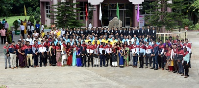 ICAR-NAARM celebrated 3rd Graduation Ceremony for PGDMA