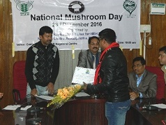 Entrepreneurship development through spawn and mushroom production in Nagaland